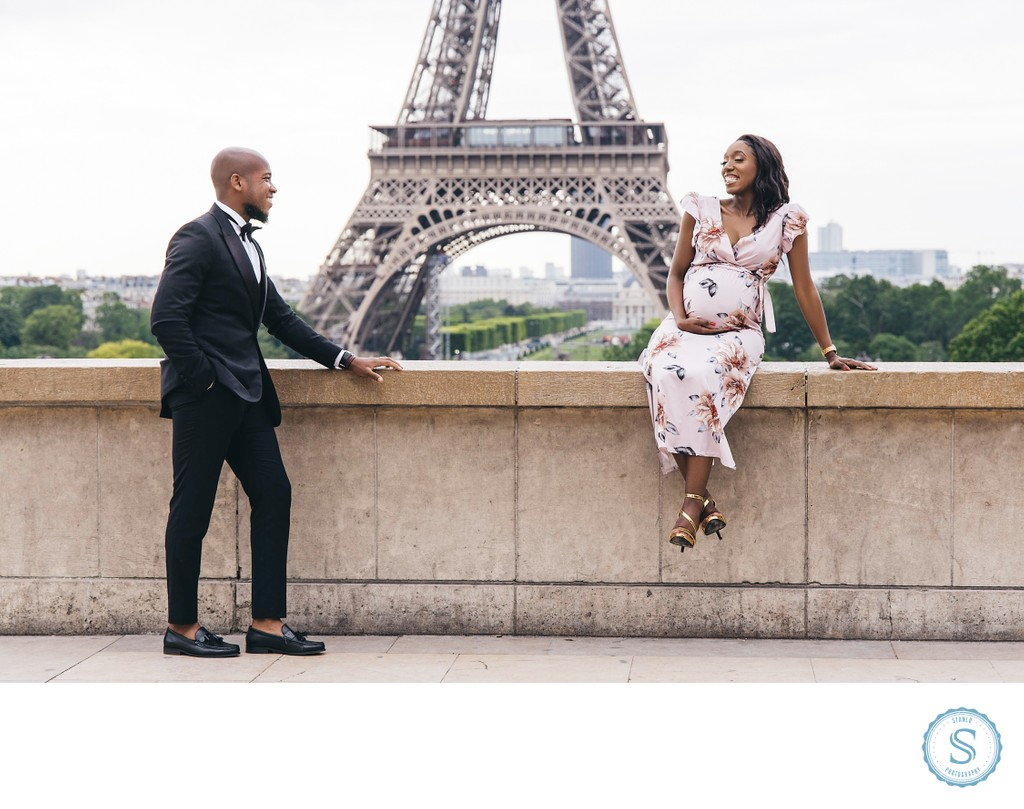 Paris  Maternity Photos