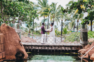Romantic Bahamas Destination Wedding