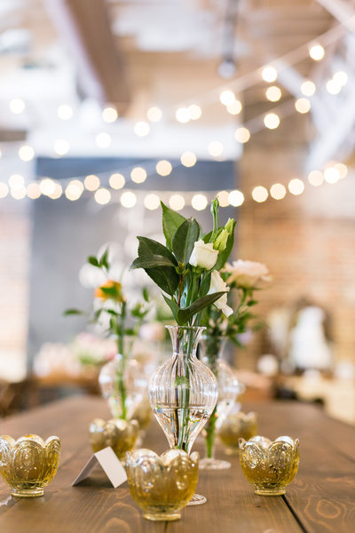 simple reception table raleigh weddings
