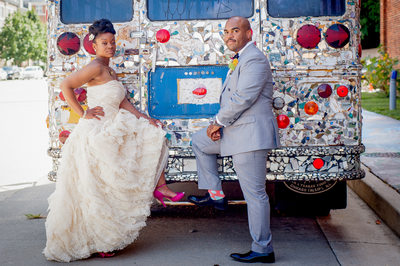 Visionary Art Museum Wedding Photographer