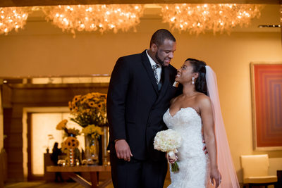 Trene' Forbes | Four Seasons Baltimore Wedding