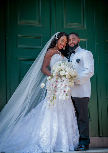 Wedding at National Museum of Women in the Arts | Gifty & Xavier