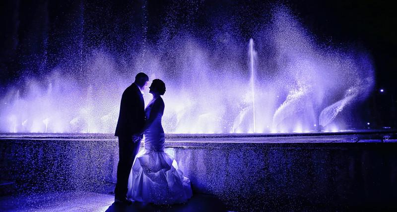 Los Angeles Weddings Water Fountain San Pedro