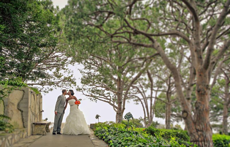 Wayfarers Chapel Wedding, Palos Verdes