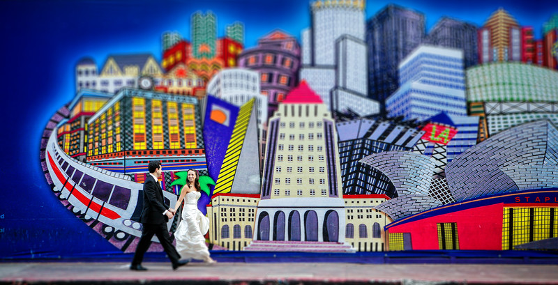 Downtown Los Angeles Wedding Photography