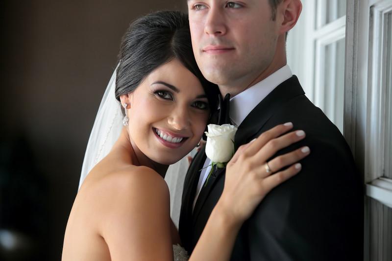 Redondo Beach Crowne Plaza bride and groom