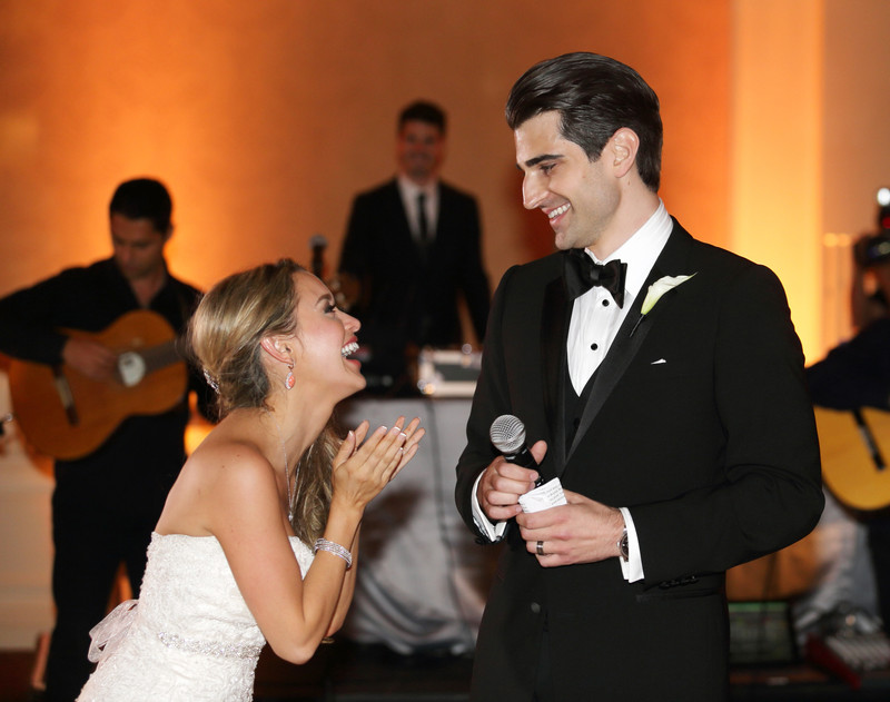 The Fairmont Hotel wedding,