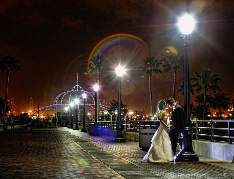 Long Beach Hyatt Wedding photography
