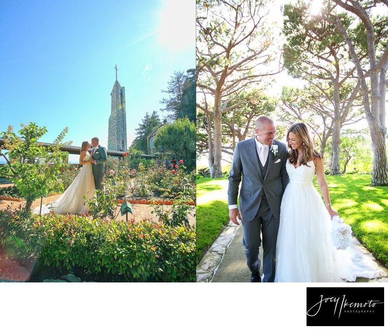 Wayfarers Chapel Wedding Sunglow Photography
