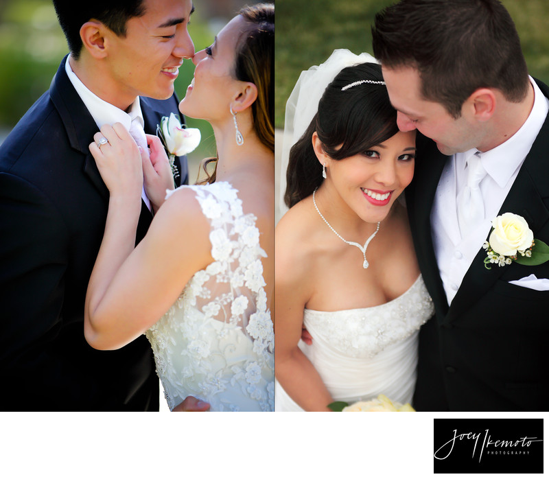 Precious candid moments of Bride and groom Photography