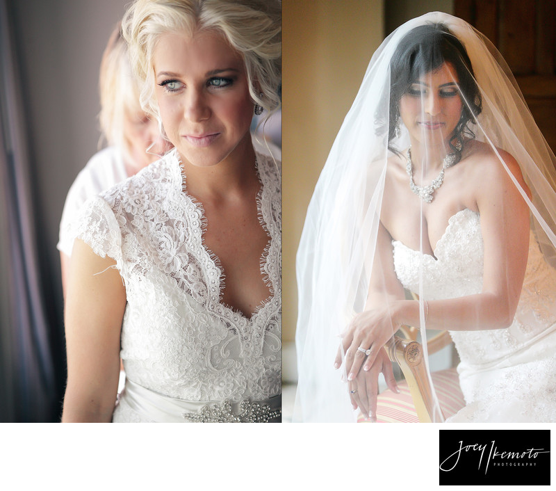 Los angeles wedding photography, bride getting ready