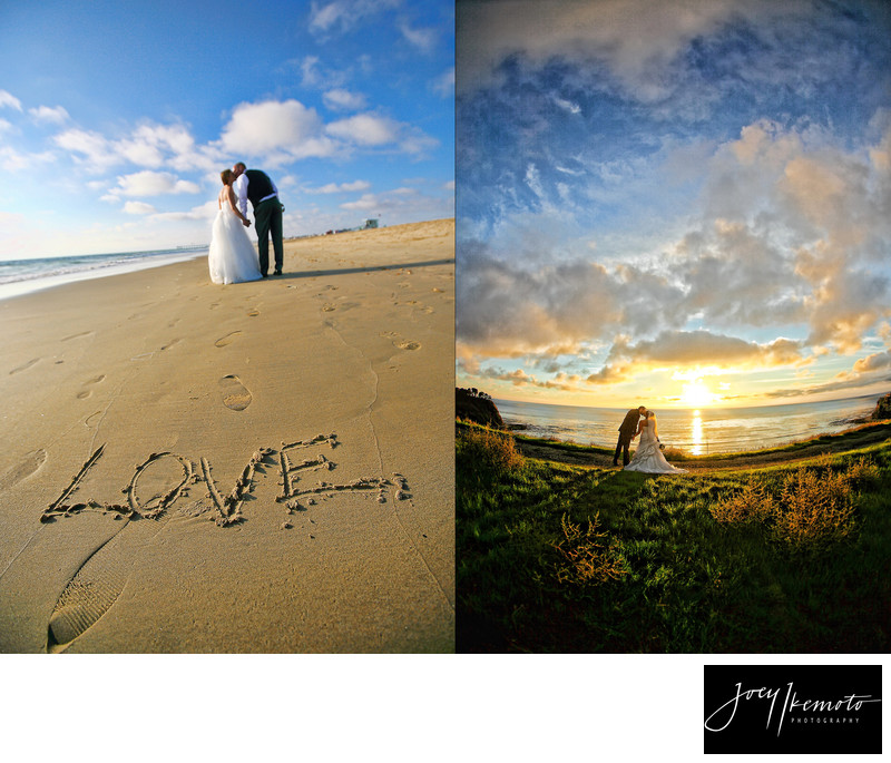Sunset Wedding Photography Palos Verdes