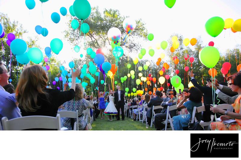 calamigos ranch mailbu wedding Carnival theme