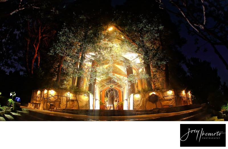 Moonlight Kiss Wayfarers Chapel