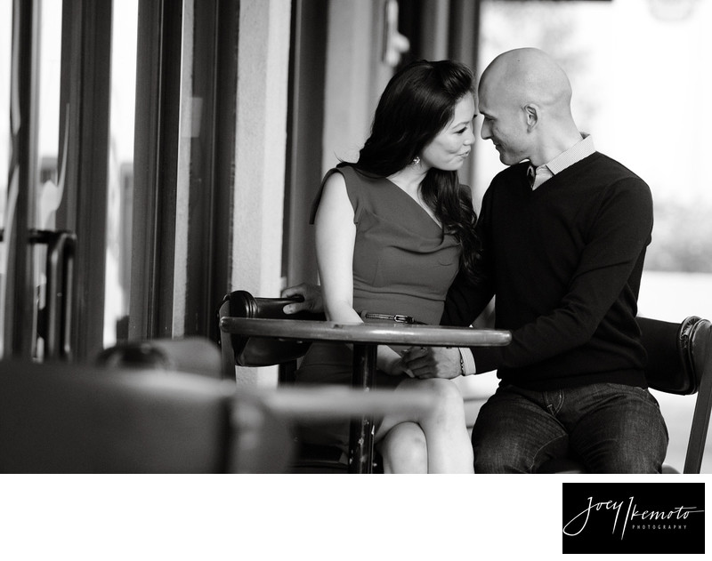 Los angeles engagement session, Old town torrance, 02
