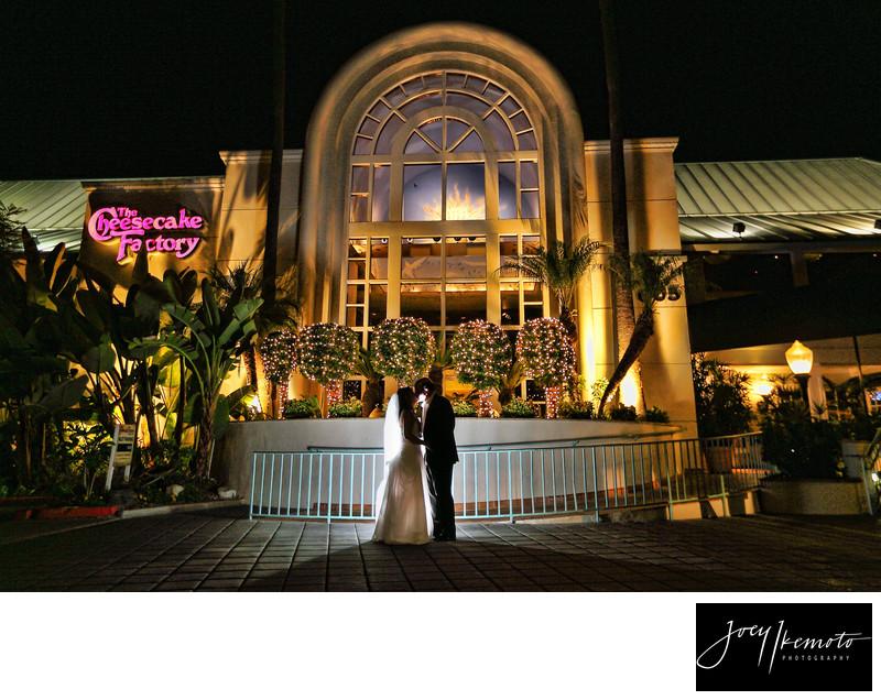The Cheesecake Factory Wedding Redondo Beach