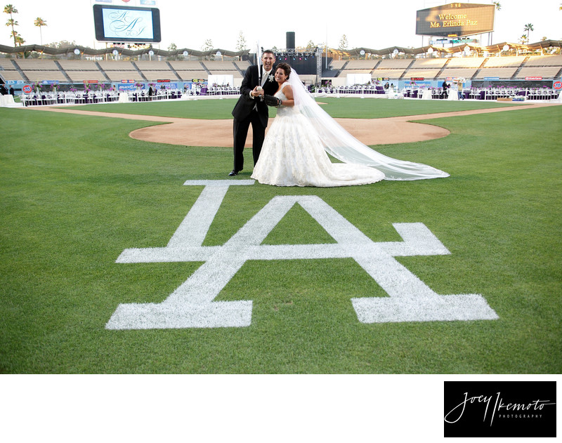 Los Angeles Dodger Stadium Wedding
