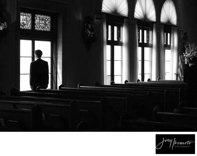 Neighborhood church Wedding Photography