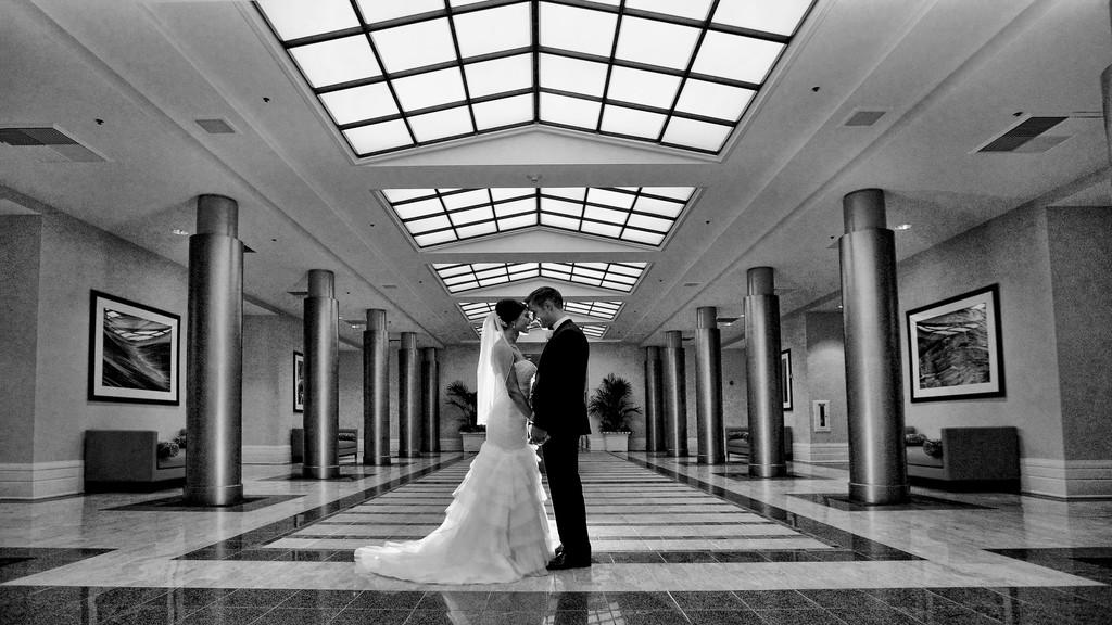 Redondo Beach Crowne Plaza Wedding Home Joey Ikemoto Photography