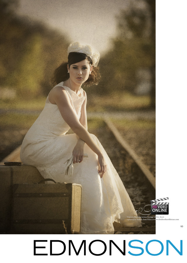 Brides of North Texas Editorial Shoot In McKinney, TX