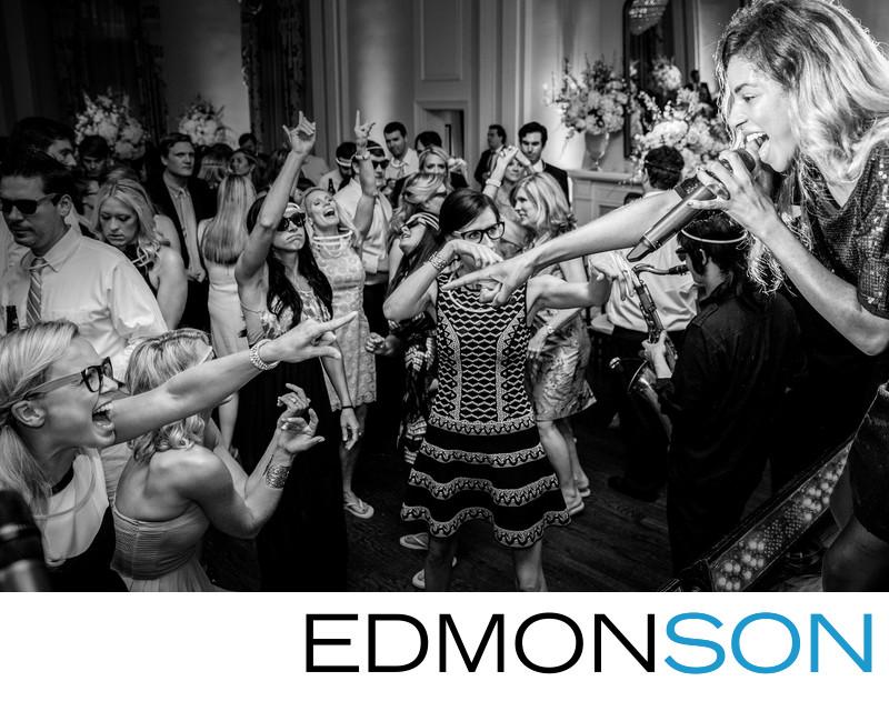 Arlington Hall Dance Floor Reaches Frenzy