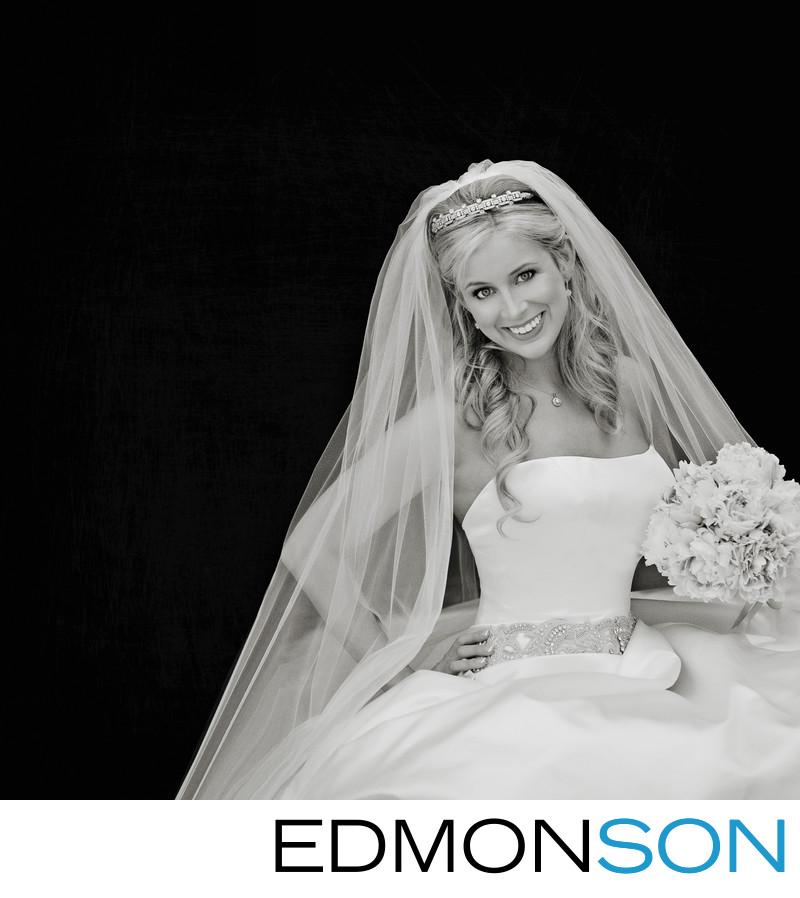 Classic Dallas Black & White Park Cities Bride