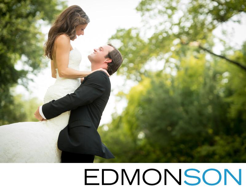Park Cities Bride Takes Leap Of Faith