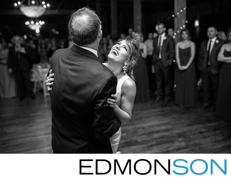 Bride Expresses Her Joy During Dance With Father