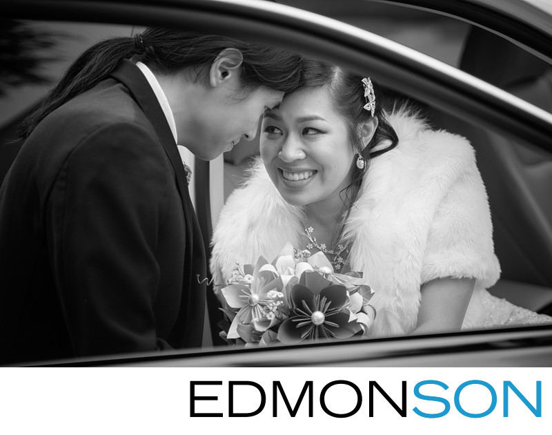 DFW Chinese Wedding Couple Makes Their Exit