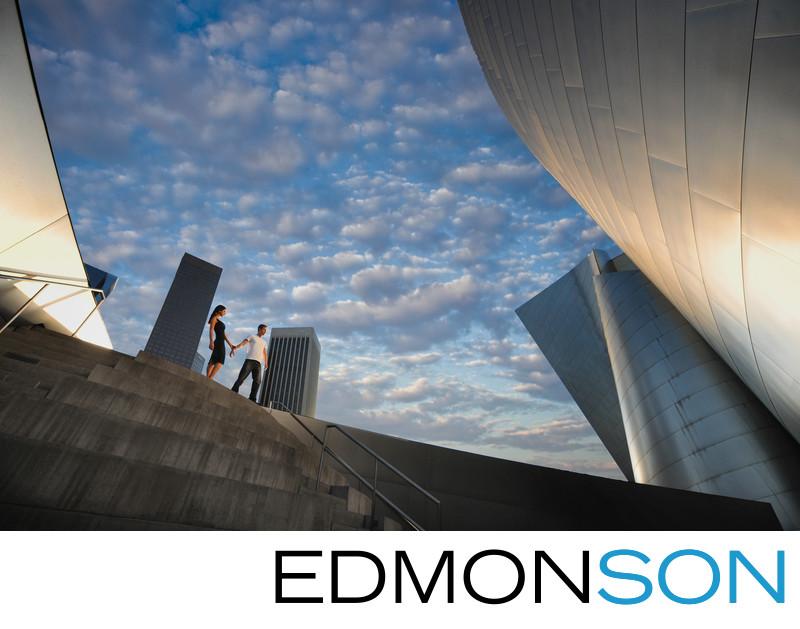 Destination Engagement Session Disney Concert Hall LA