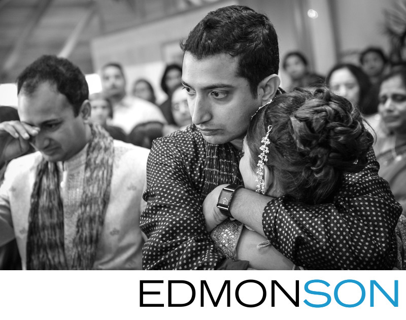 Indian Wedding Vidhi Is Emotional Moment