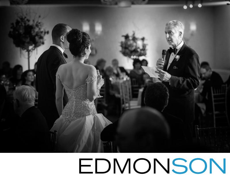 Wedding Reception Speech At Mansion On Turtle Creek
