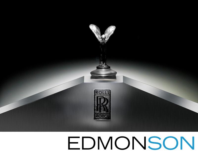 Rolls-Royce Detail At DFW Events Wedding Reception