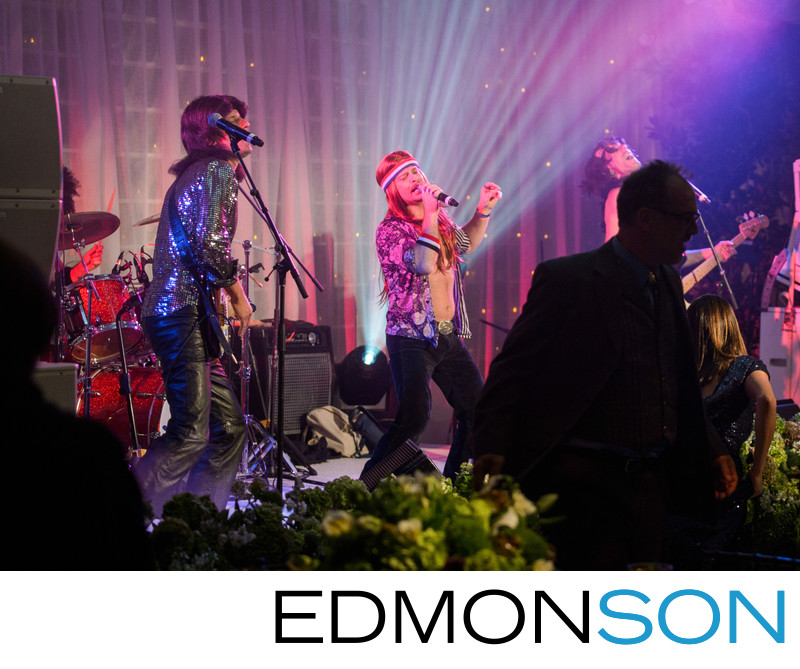 Fun Wedding Band Performs At DFW Wedding
