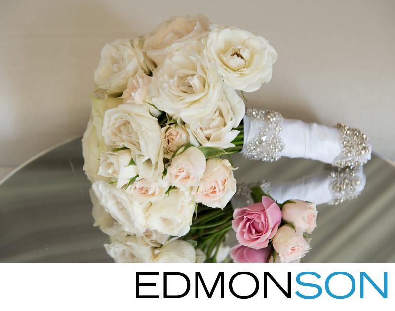 Karen Tran Bouquet At Texas Platinum Wedding