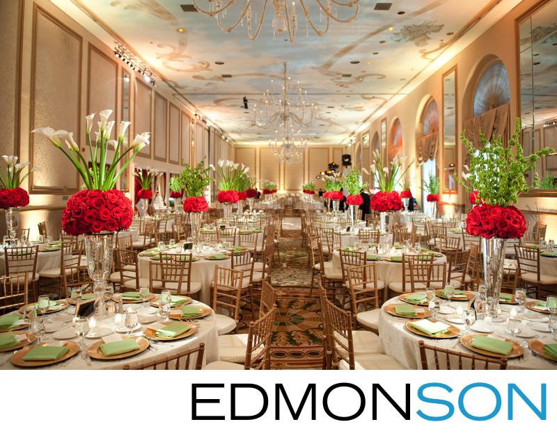 Adolphus Ballroom Wedding Reception