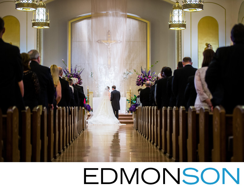Sacred Vows Exchanged At Holy Trinity Catholic Church