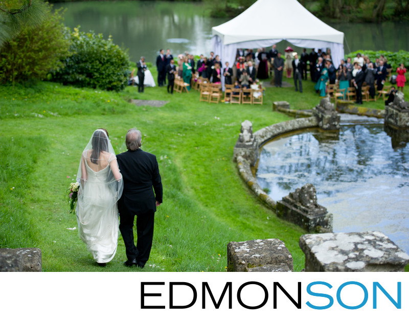 David Edmonson Is Father Of Bride At Cowley Manor