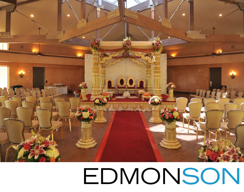 Indian Wedding Mandap By Suman Pai Of Elegant Affairs