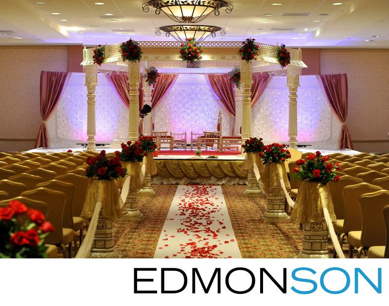 Lovely Houston Indian Wedding Decor By Mandap Creations
