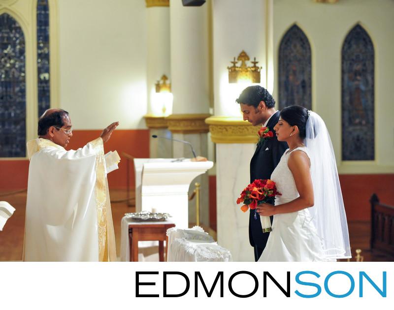 Dallas Indian Catholic Wedding Ceremony