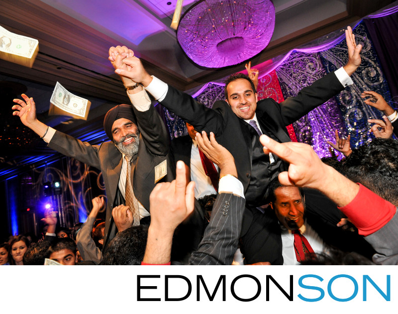 Sikh Indian Wedding Reception At Anatole