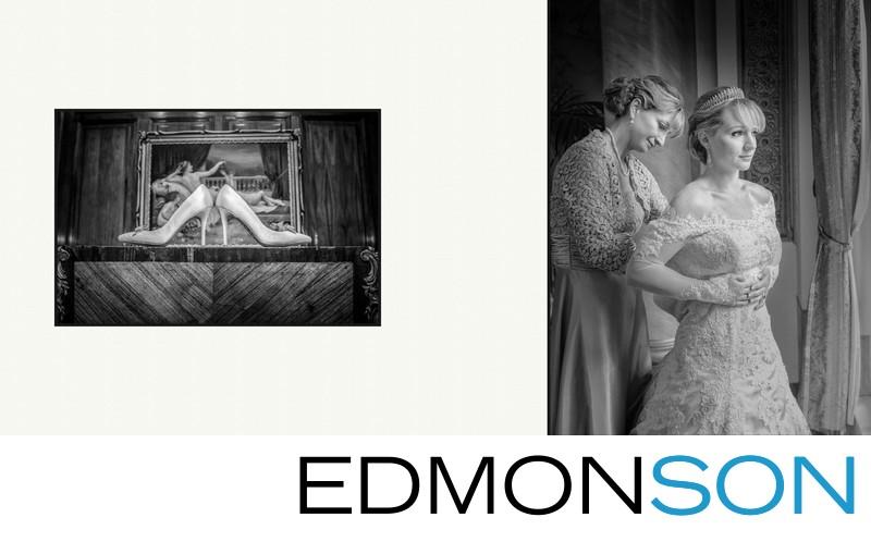 Mother Assists Bride At Adolphus Wedding In Dallas