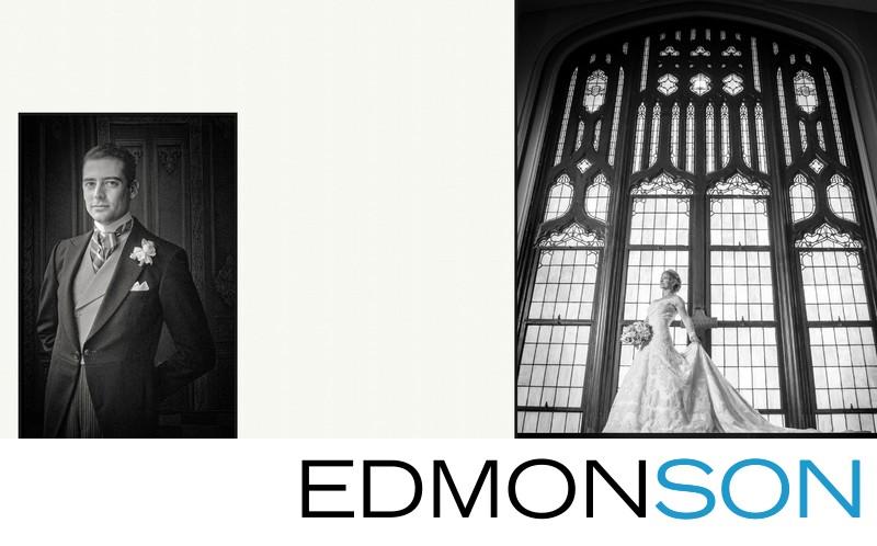 Bride & Groom First United Methodist Dallas Wedding