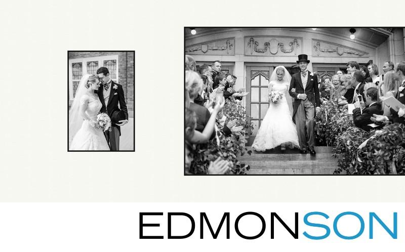 Exits At First United Methodist Dallas Wedding