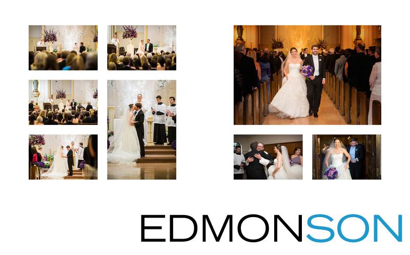 Dallas Catholic Wedding At Holy Trinity Church