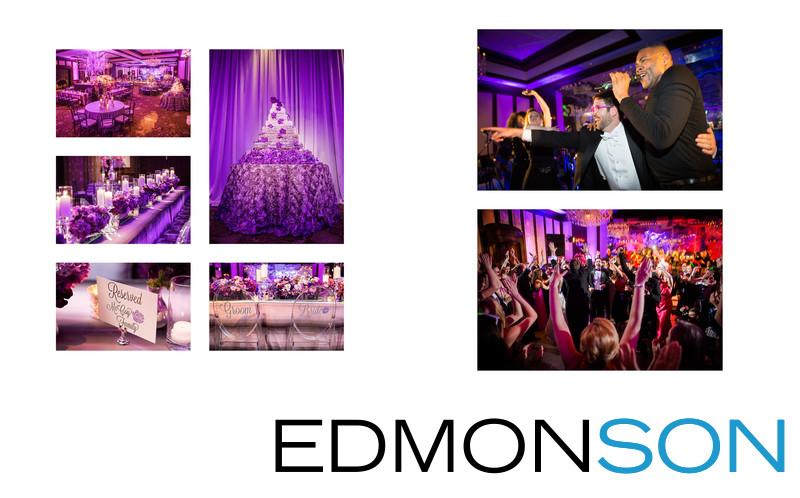 Dallas Country Club Wedding Reception Details