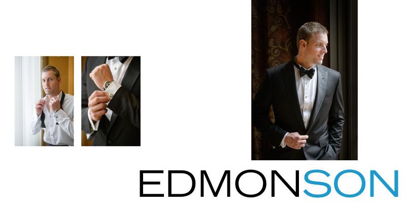 Groom Gets Ready For Wedding At Ritz-Carlton, Dallas