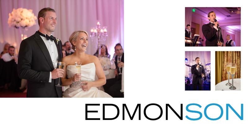 Rtiz-Carlton Dallas Wedding Reception Speeches