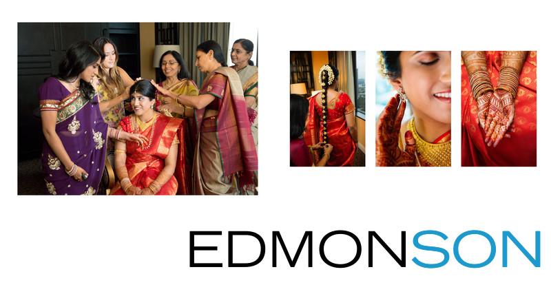 Telegu Indian Bride Gets Ready At Anatole